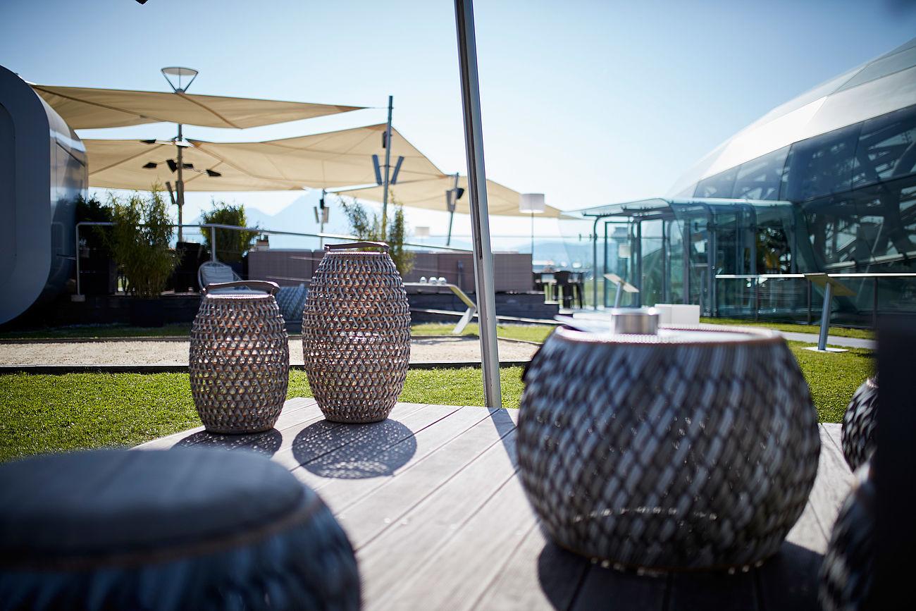 Verschiedene Lounge Outdoor Foto Von Picture Gallery